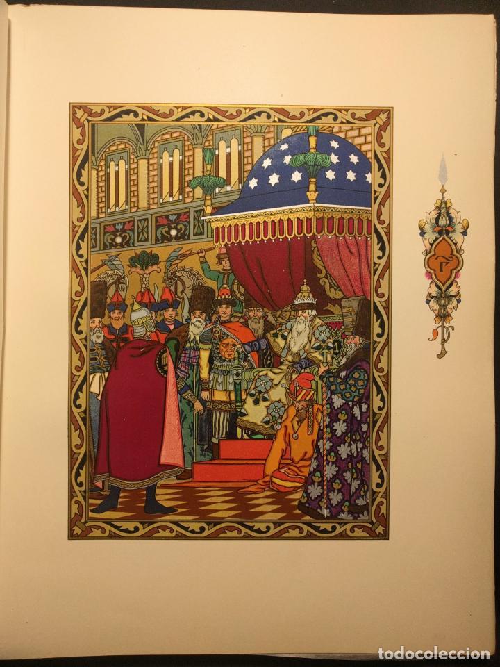Libros antiguos: Le coq DOr et dautres contes de A. S. Pouchkine. Illustrés par B. Z. Worykine. Paris. LEdition D - Foto 8 - 203296143