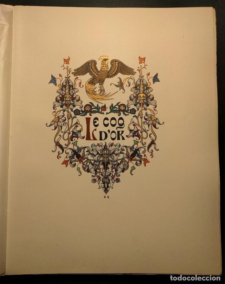 Libros antiguos: Le coq DOr et dautres contes de A. S. Pouchkine. Illustrés par B. Z. Worykine. Paris. LEdition D - Foto 11 - 203296143