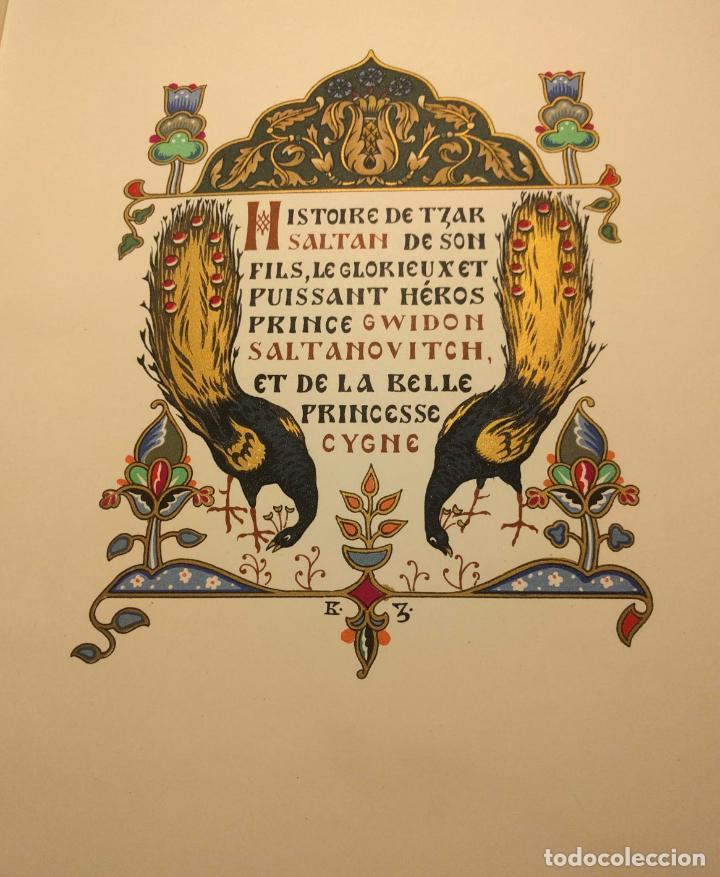 Libros antiguos: Le coq DOr et dautres contes de A. S. Pouchkine. Illustrés par B. Z. Worykine. Paris. LEdition D - Foto 15 - 203296143