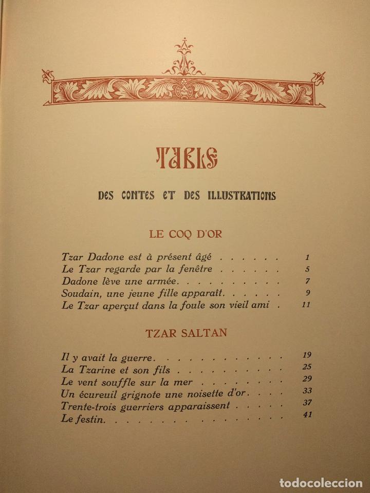 Libros antiguos: Le coq DOr et dautres contes de A. S. Pouchkine. Illustrés par B. Z. Worykine. Paris. LEdition D - Foto 27 - 203296143