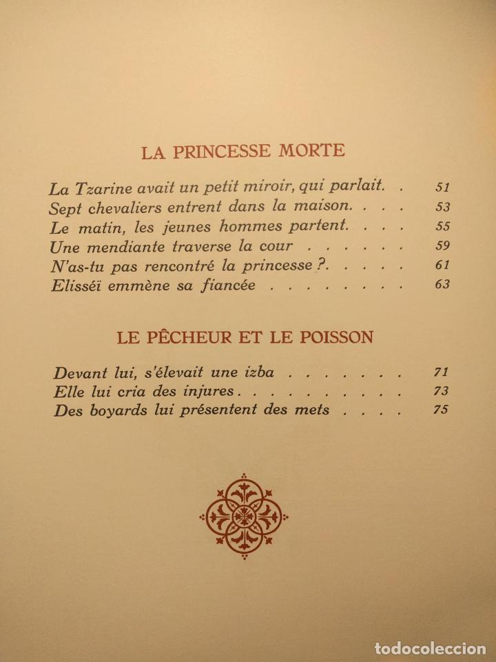 Libros antiguos: Le coq DOr et dautres contes de A. S. Pouchkine. Illustrés par B. Z. Worykine. Paris. LEdition D - Foto 28 - 203296143