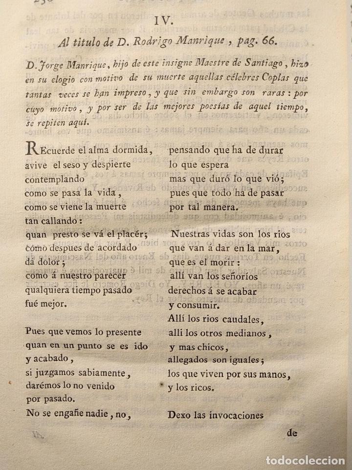 Libros antiguos: Centón epistolario. Gómez de Cibdareal. Claros Varones... Fernando del Pulgar. 1775. - Foto 5 - 203296333