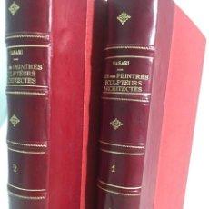 Libros antiguos: LES VIES DES PLUS EXCELLENTS PEINTRES, SCULPTEURS ET ARCHITECTES. GIORGIO VASARI.. Lote 203509343