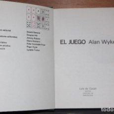 Libros antiguos: EL JUEGO DE ALANWYKES. Lote 203570587