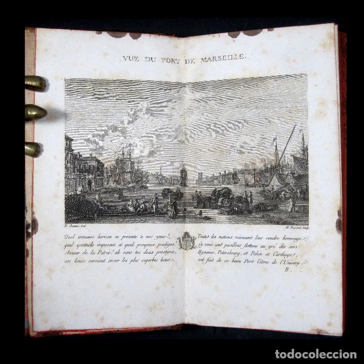 AÑO 1786 PRIMERA EDICIÓN DE LAS TARDES PROVENZALES GRABADO A DOBLE PÁGINA MARSELLA NINGUNO EN ESPAÑA (Libros antiguos (hasta 1936), raros y curiosos - Literatura - Narrativa - Otros)