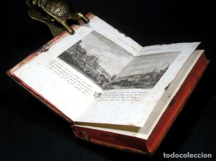 Libros antiguos: Año 1786 Primera Edición de Las tardes provenzales Grabado a doble página Marsella Ninguno en España - Foto 2 - 203796573