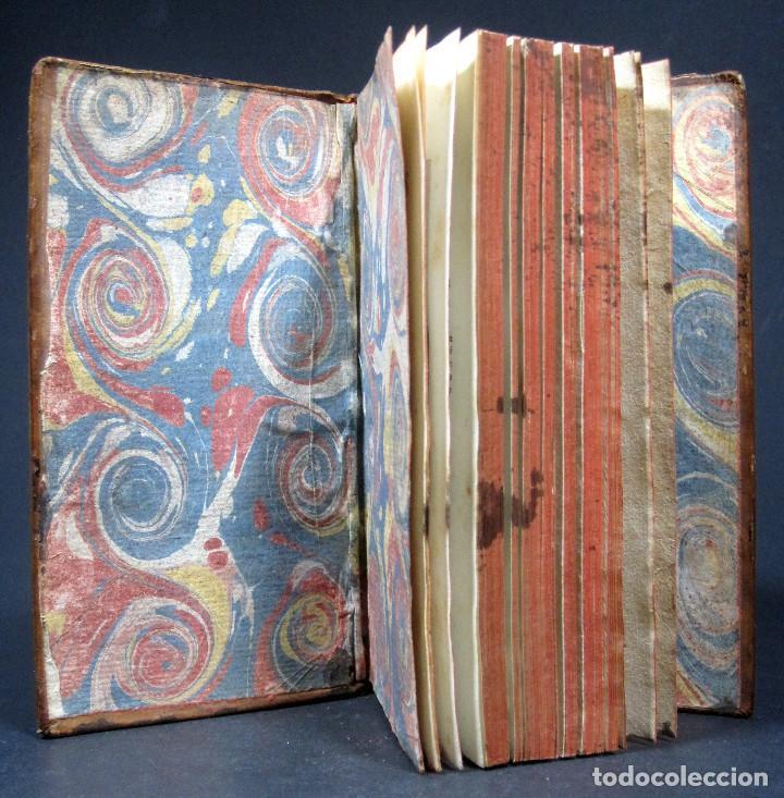 Libros antiguos: Año 1786 Primera Edición de Las tardes provenzales Grabado a doble página Marsella Ninguno en España - Foto 5 - 203796573