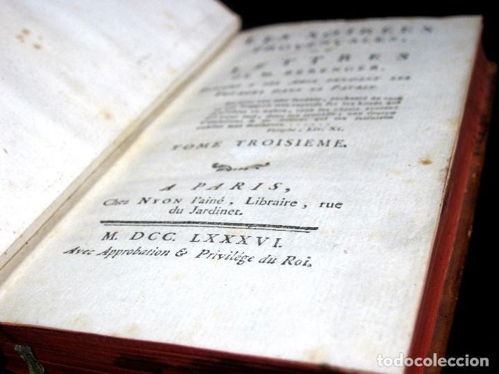 Libros antiguos: Año 1786 Primera Edición de Las tardes provenzales Grabado a doble página Marsella Ninguno en España - Foto 7 - 203796573