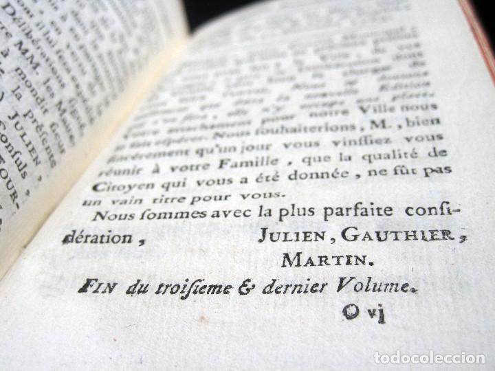 Libros antiguos: Año 1786 Primera Edición de Las tardes provenzales Grabado a doble página Marsella Ninguno en España - Foto 12 - 203796573