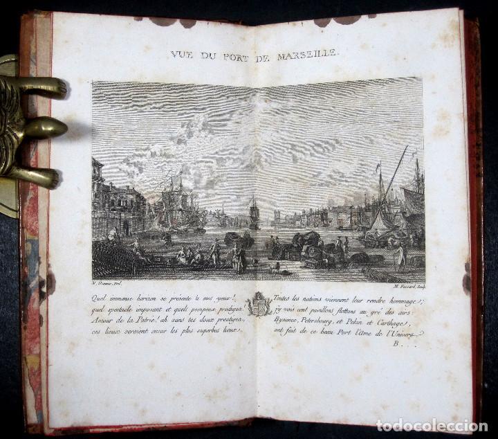 Libros antiguos: Año 1786 Primera Edición de Las tardes provenzales Grabado a doble página Marsella Ninguno en España - Foto 14 - 203796573
