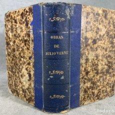 Livres anciens: LIBRO OBRAS DE JULIO VERNE - 1889. Lote 203843613
