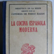 Livros antigos: LA COCINA ESPAÑOLA MODERNA.. Lote 203857820