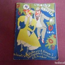 Livres anciens: NOSTRA NOVEL.LA/E.DURAN I TORTAJADA/VALENCIA 1931.. Lote 203934893