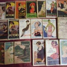 Livres anciens: LA NOVELA-SEMANAL-MUNDIAL-DEL SABADO-DE HOY- LOTE 19 EJEMPLARES AÑOS 20-30.INTERESANTE LOTE.. Lote 203935867