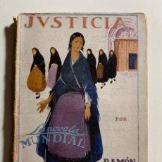 Libros antiguos: JUSTICIA [1928]. Lote 203953587