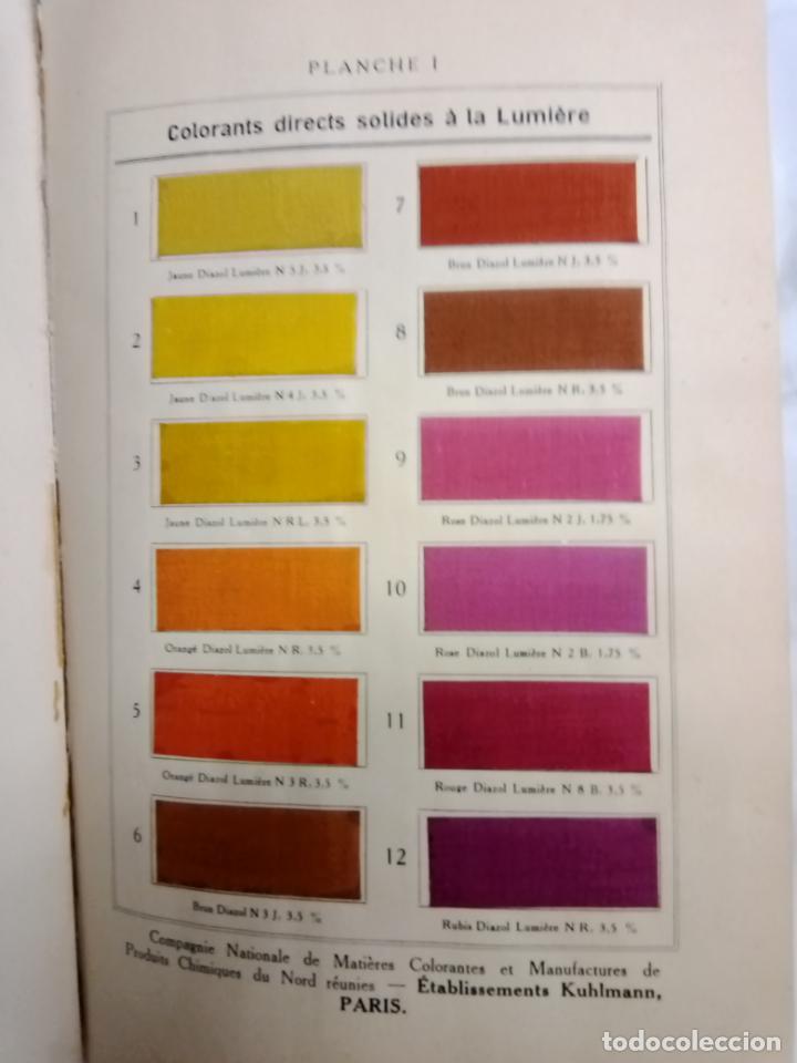 Libros antiguos: LA TEINTURE E IMPRESION DES TEXTURES SECOND VOLUME 1927 -EN FRANCES - Foto 2 - 203965206