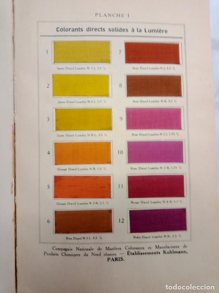 Libros antiguos: LA TEINTURE E IMPRESION DES TEXTURES SECOND VOLUME 1927 -EN FRANCES - Foto 3 - 203965206