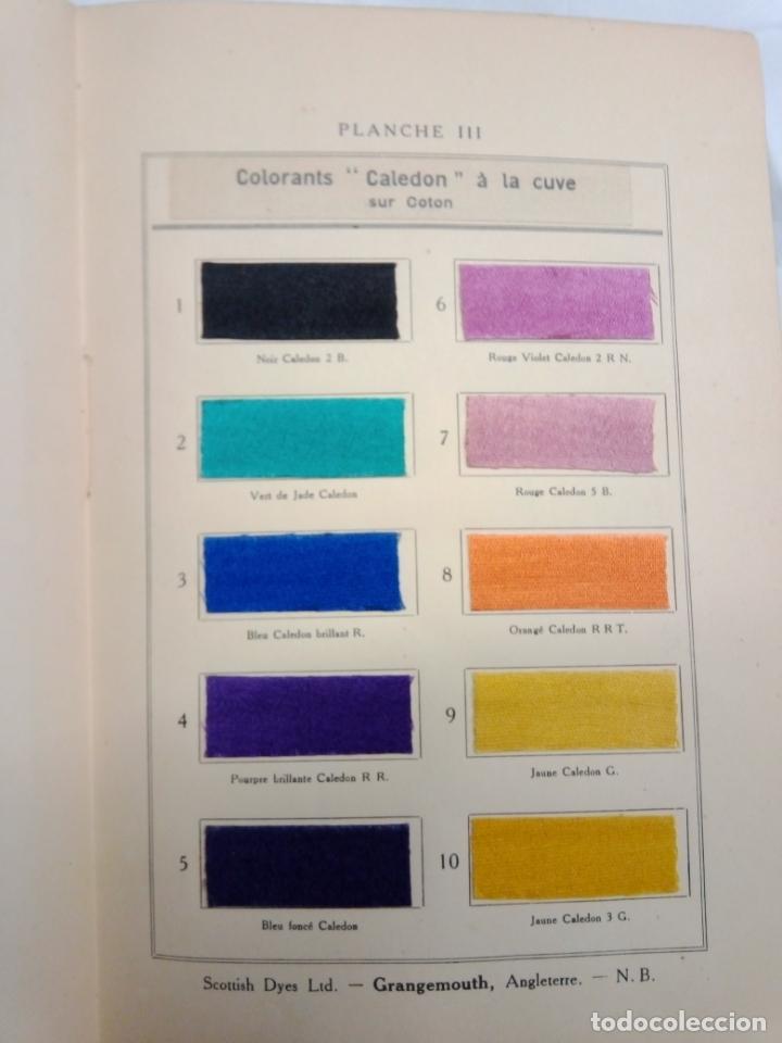 Libros antiguos: LA TEINTURE E IMPRESION DES TEXTURES SECOND VOLUME 1927 -EN FRANCES - Foto 4 - 203965206