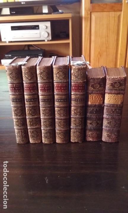 QUIJOTE 5 TOMOS 1700 Y QUIJOTE FERNANDEZ DE AVELLANEDA 2 TOMOS 1707 COMPLETOS (Libros Antiguos, Raros y Curiosos - Literatura - Otros)