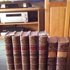 Libros antiguos: QUIJOTE 5 TOMOS 1700 Y QUIJOTE FERNANDEZ DE AVELLANEDA 2 TOMOS 1707 COMPLETOS. Lote 203984056