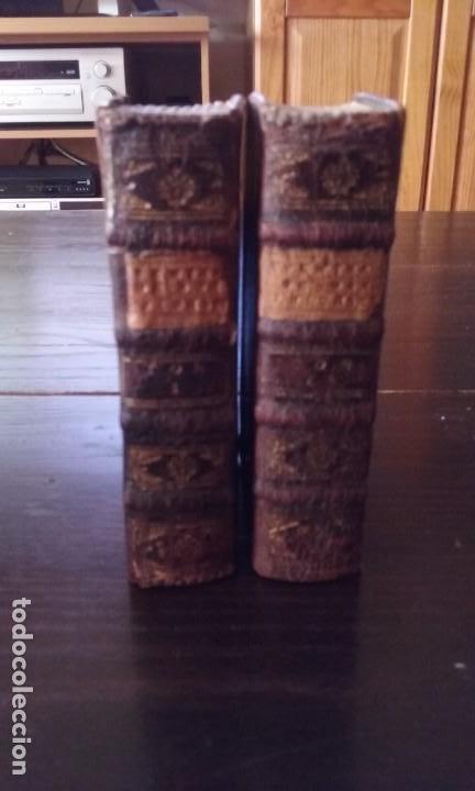 Libros antiguos: Quijote 5 tomos 1700 y Quijote Fernandez de Avellaneda 2 tomos 1707 completos - Foto 7 - 203984056