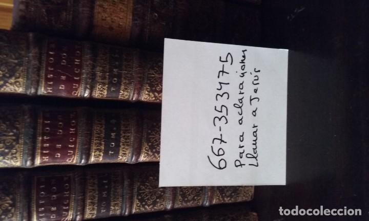 Libros antiguos: Quijote 5 tomos 1700 y Quijote Fernandez de Avellaneda 2 tomos 1707 completos - Foto 11 - 203984056