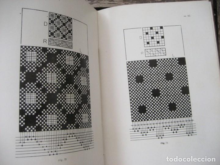Libros antiguos: monografia de los tejidos arrugados . P. rodon badalona 1929 cataluña textil 2 edicion - Foto 4 - 204056260