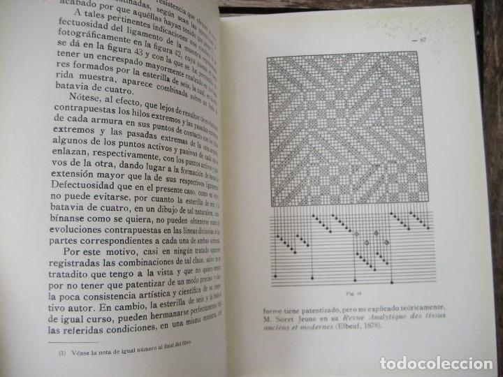 Libros antiguos: monografia de los tejidos arrugados . P. rodon badalona 1929 cataluña textil 2 edicion - Foto 6 - 204056260