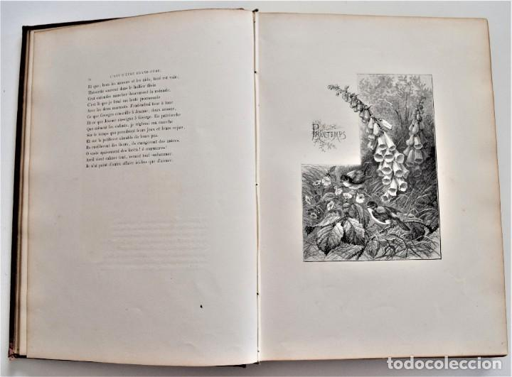 Libros antiguos: PRECIOSO LIBRO EN FRANCÉS L´ART D´ÊTRE GRAND-PÈRE - VICTOR HUGO - PARIS AÑO 1884 - Foto 8 - 204078538