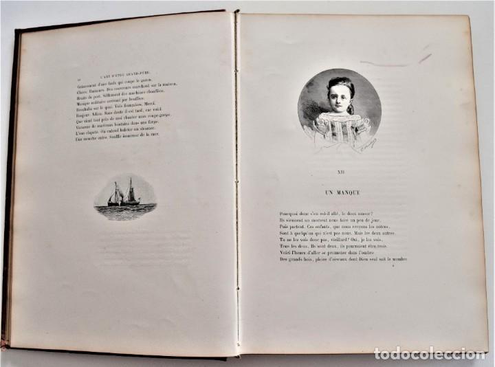 Libros antiguos: PRECIOSO LIBRO EN FRANCÉS L´ART D´ÊTRE GRAND-PÈRE - VICTOR HUGO - PARIS AÑO 1884 - Foto 9 - 204078538