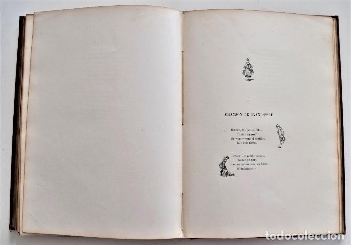 Libros antiguos: PRECIOSO LIBRO EN FRANCÉS L´ART D´ÊTRE GRAND-PÈRE - VICTOR HUGO - PARIS AÑO 1884 - Foto 12 - 204078538