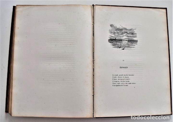 Libros antiguos: PRECIOSO LIBRO EN FRANCÉS L´ART D´ÊTRE GRAND-PÈRE - VICTOR HUGO - PARIS AÑO 1884 - Foto 13 - 204078538