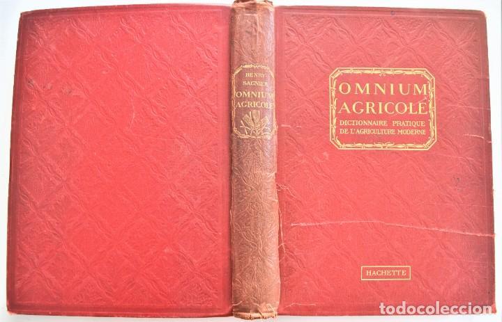 Libros antiguos: OMNIUM AGRICOLE - DICTIONNAIRE PRATIQUE DE L´AGRICULTURE MODERNE - HENRY SAGNIER - PARIS - Foto 3 - 204079636