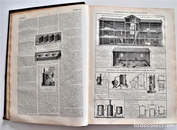 Libros antiguos: OMNIUM AGRICOLE - DICTIONNAIRE PRATIQUE DE L´AGRICULTURE MODERNE - HENRY SAGNIER - PARIS - Foto 6 - 204079636