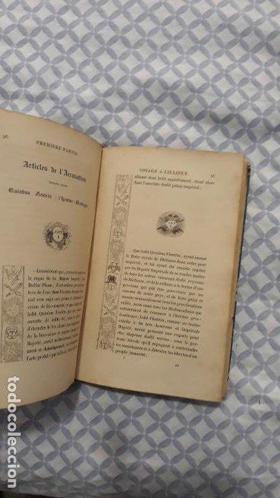 Libros antiguos: voyages de gulliver en frances 1837,paris furne et cie, ilustrado,2 tomos - Foto 4 - 204153216