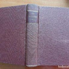 Libros antiguos: 1930 EN PATUFET - TOMO I /ENERO A JUNIO/ Nº 1344 AL 1369. Lote 204170321