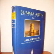 Libri antichi: ARTE PORTUGUÉS. SUMMA ARTIS. HISTORIA GENERAL DEL ARTE XXX - FRANÇA, MORALES, RINCÓN. Lote 204178548