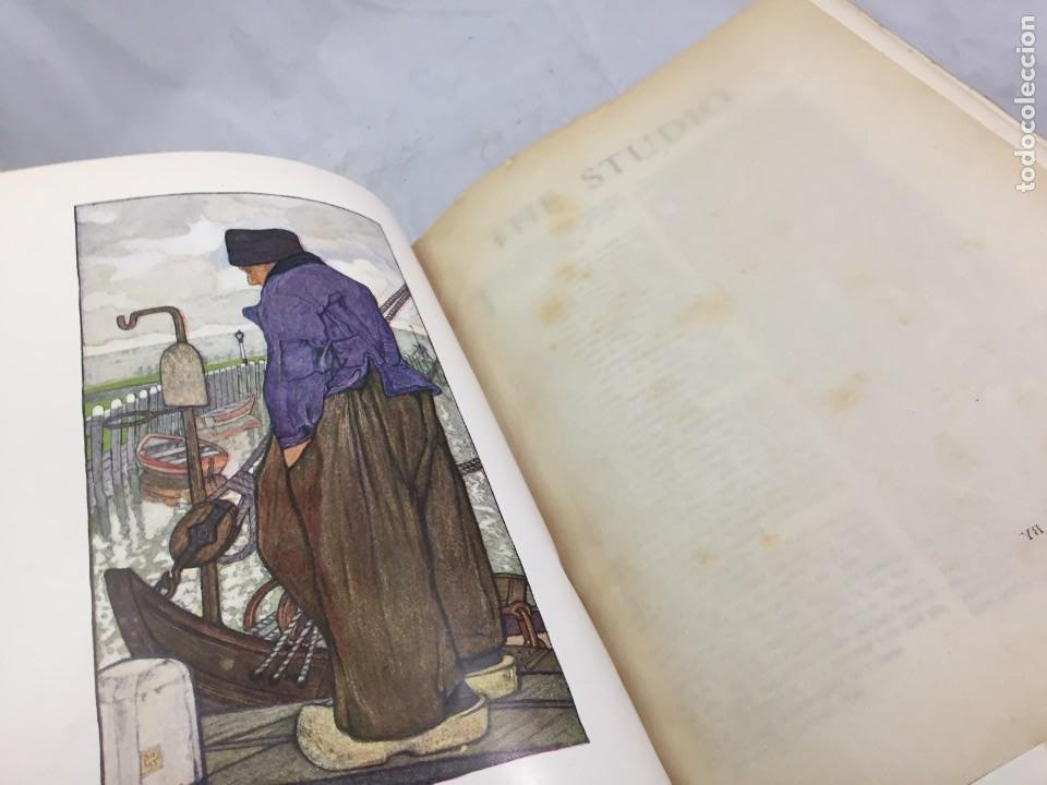 Libros antiguos: The Studio arts Magazine, Volume 15 circa 1900 completo buen estado en inglés. ilustrado - Foto 2 - 204209930