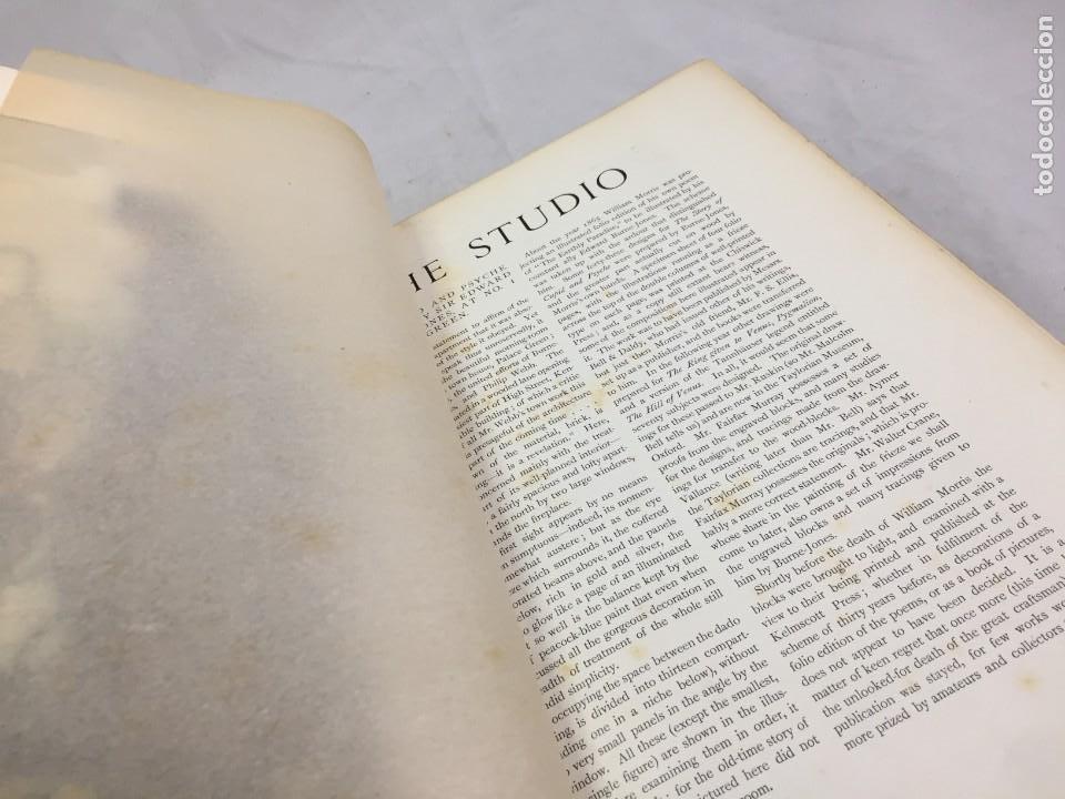 Libros antiguos: The Studio arts Magazine, Volume 15 circa 1900 completo buen estado en inglés. ilustrado - Foto 3 - 204209930