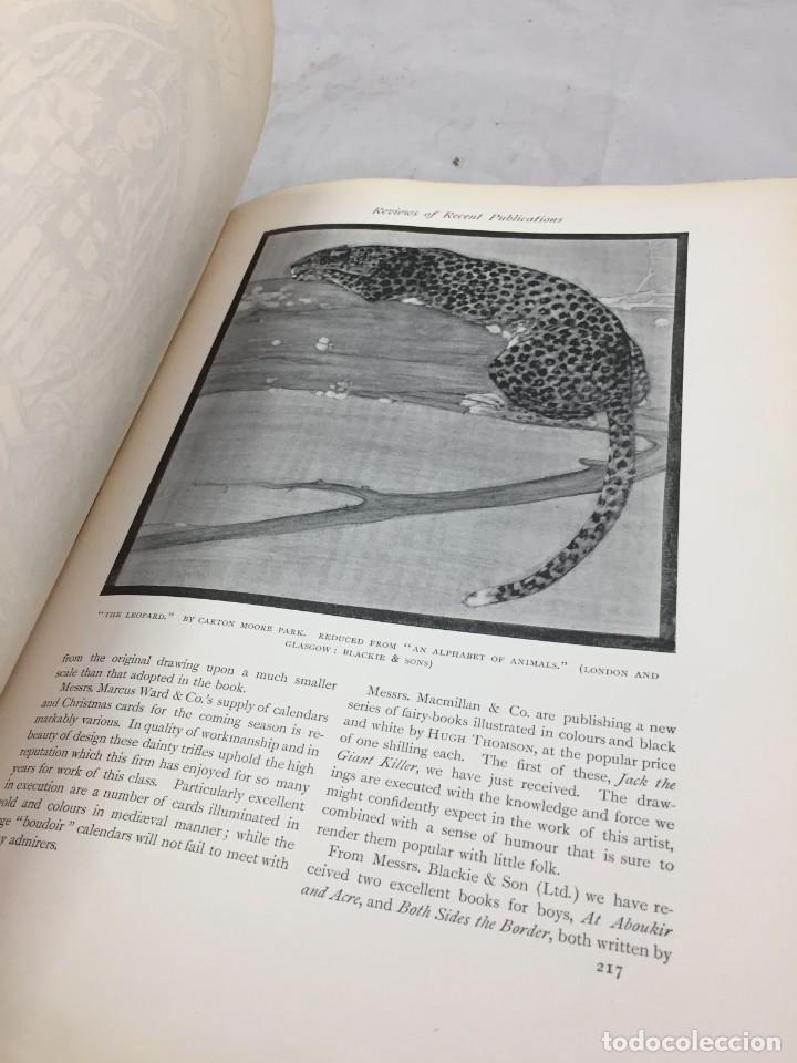 Libros antiguos: The Studio arts Magazine, Volume 15 circa 1900 completo buen estado en inglés. ilustrado - Foto 6 - 204209930