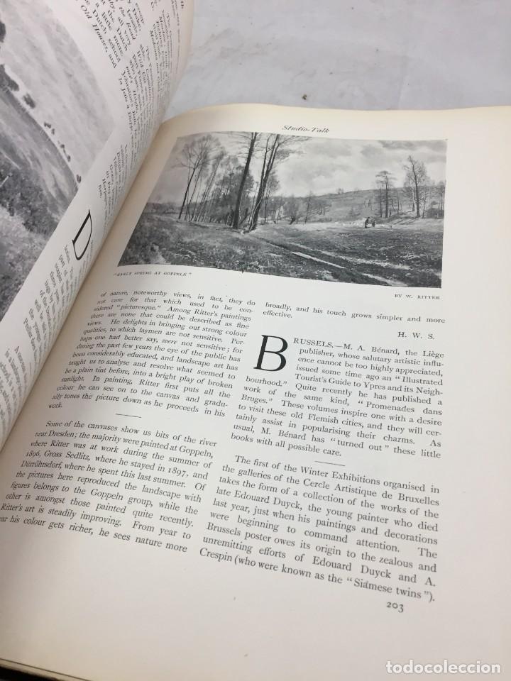 Libros antiguos: The Studio arts Magazine, Volume 15 circa 1900 completo buen estado en inglés. ilustrado - Foto 7 - 204209930