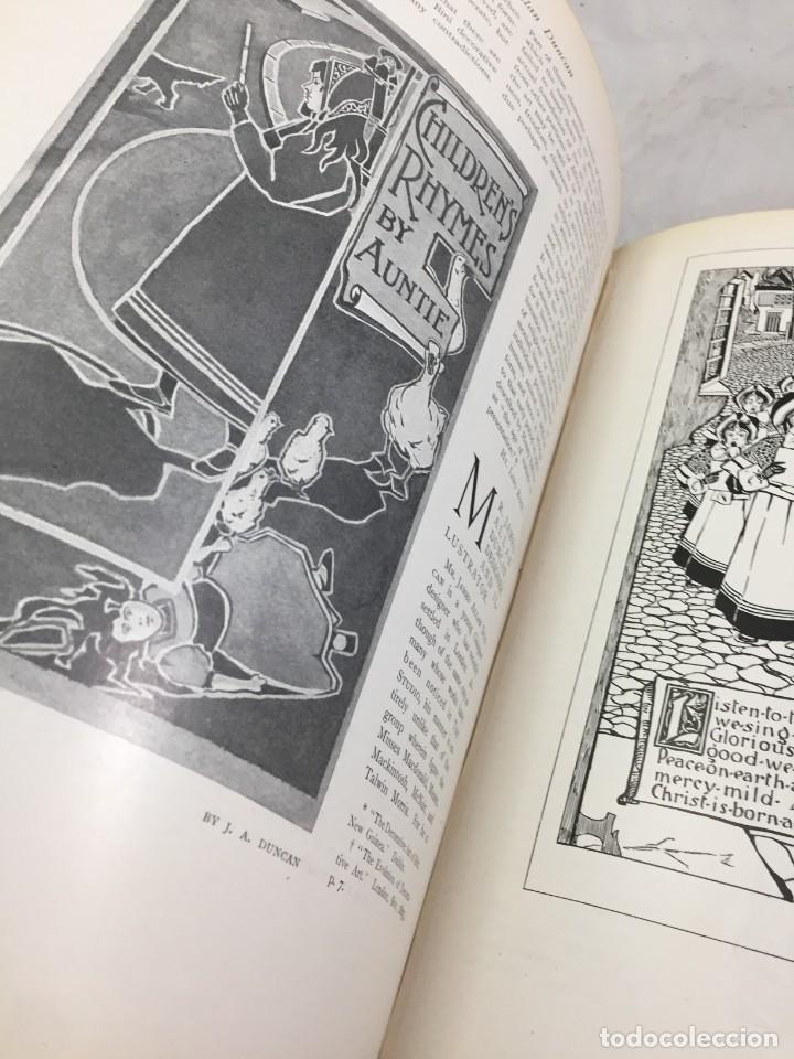 Libros antiguos: The Studio arts Magazine, Volume 15 circa 1900 completo buen estado en inglés. ilustrado - Foto 9 - 204209930