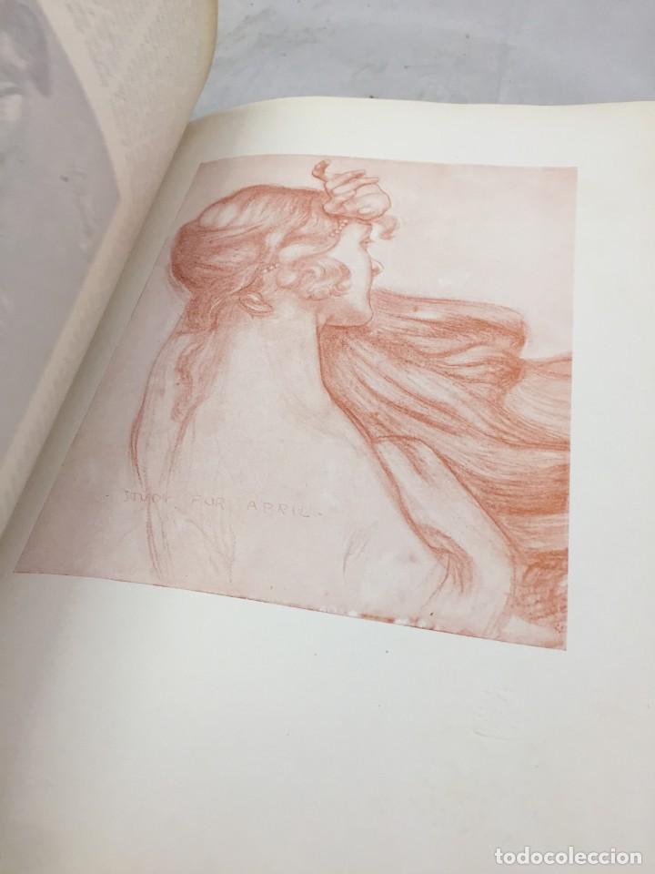 Libros antiguos: The Studio arts Magazine, Volume 15 circa 1900 completo buen estado en inglés. ilustrado - Foto 11 - 204209930