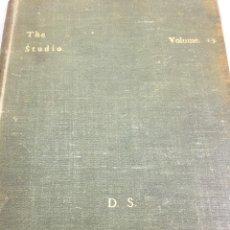 Libros antiguos: THE STUDIO ARTS MAGAZINE, VOLUME 15 CIRCA 1900 COMPLETO BUEN ESTADO EN INGLÉS. ILUSTRADO. Lote 204209930