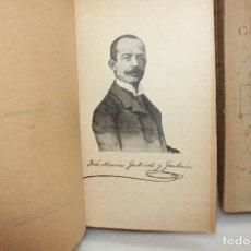 Libros antiguos: OBRAS COMPLETAS, JOSE MARIA GABRIEL Y GALAN. 2 TOMOS. AÑO 1917. UNA JOYA. Lote 204323802