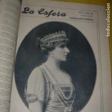 Livres anciens: LA ESFERA. REVISTA DE ILUSTRACIÓN MUNDIAL. AÑO 1918. 26 NºS. EN UN VOLUMEN.. Lote 204400897