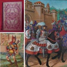Libros antiguos: AÑO 1874 -29 CM - PRECIOSO LIBRO ILUSTRADO SOBRE LA EDAD MEDIA - LITOGRAFIAS A COLOR - 440 GRABADOS. Lote 204460222