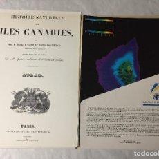 Libros antiguos: HISTORI NATURAL ISLAS CANARIAS - MAPAS. EXCELENTE COLECCIÓN 1991. Lote 204482695