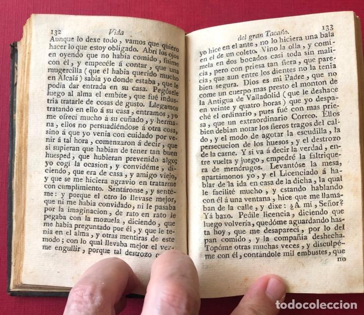 Libros antiguos: L- Obras escogidas de D. Francisco De Quevedo Villegas. Tomo I y II en un solo volumen. Año 1798. - Foto 6 - 204514068