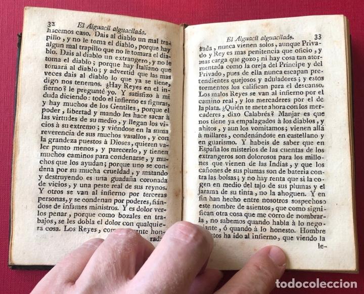 Libros antiguos: L- Obras escogidas de D. Francisco De Quevedo Villegas. Tomo I y II en un solo volumen. Año 1798. - Foto 7 - 204514068